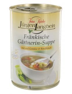 J�rgen Langbein Fr�nkische G�rtnerin-Suppe  (400 ml) - 4007680106448