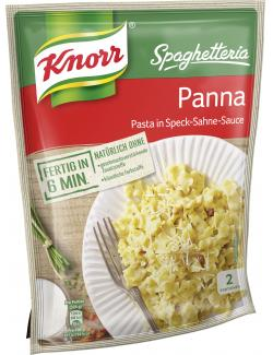 Knorr Spaghetteria Panna Pasta in Speck-Sahne-Sauce  (153 g) - 4038700118097