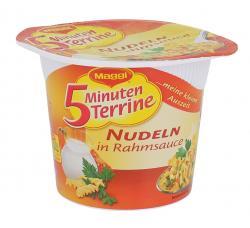 Maggi 5 Minuten Terrine Nudeln in Rahmsauce  (67 g) - 4005500338703