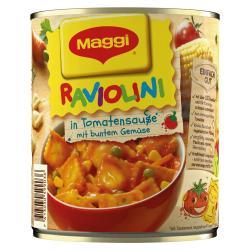Maggi Raviolini in Tomatensauce mit Gem�se  (800 g) - 7613030599036