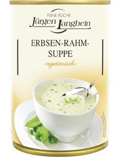 J�rgen Langbein Erbsen-Rahm-Suppe  (400 ml) - 4007680106295