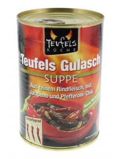 Teufels K�che Teufels Gulasch Suppe  (425 ml) - 4008002551021