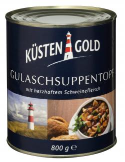 K�stengold Gulaschsuppentopf mit herzhaftem Schweinefleisch  (800 g) - 4003082008083
