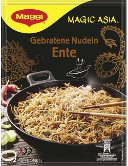 Maggi Magic Asia Gebratene Nudeln mit Ente  (119 g) - 7613030700067