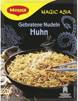 Maggi Magic Asia Gebratene Nudeln mit Huhn  (121 g) - 7613031233052