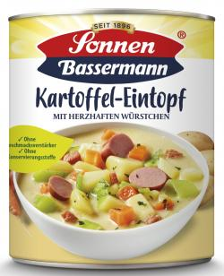 Sonnen Bassermann Mein Kartoffeltopf mit herzhaften W�rstchen  (800 g) - 4002473601353