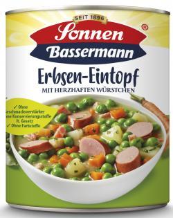 Sonnen Bassermann Mein Erbsentopf mit herzhaften Würstchen  (800 g) - 4002473966353
