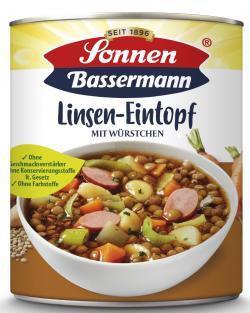 Sonnen Bassermann Mein Linsentopf mit W�rstchen  (800 g) - 4002473967350