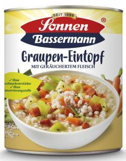 Sonnen Bassermann Mein Graupentopf mit geräuchertem Fleisch  (800 g) - 4002473943354