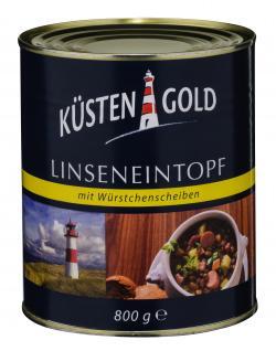 K�stengold Linseneintopf mit W�rstchenscheiben  (800 g) - 4250426204599