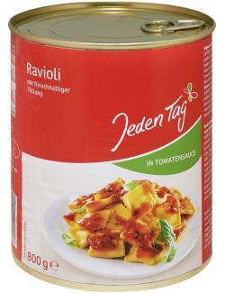 Jeden Tag Ravioli in Tomatensauce  (800 g) - 4306188043195