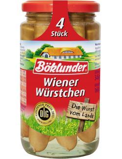 Böklunder Wiener-Würstchen  (4 x 40 g) - 4000404128351