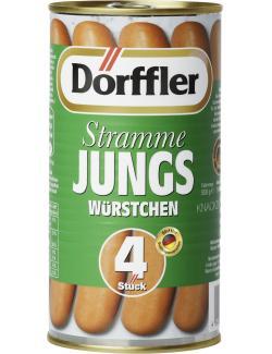 Dörffler Stramme Jungs Würstchen knackzart  (250 g) - 4000582500093