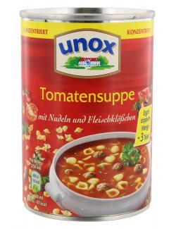 Unox Tomatensuppe mit Nudeln und Fleischklößchen  (400 ml) - 4013300004087