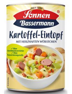 Sonnen Bassermann Mein Kartoffeltopf mit herzhaften Würstchen 1 Teller  (400 g) - 4002473601452