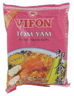 Vifon Instantnudelsuppe Tom Yam Geschmack  (70 g) - 8934561241881