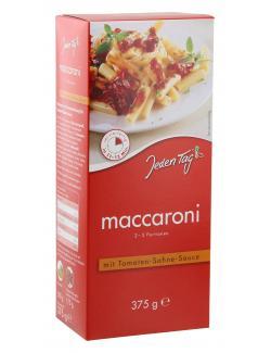 Jeden Tag Maccaroni mit Tomaten-Sahne Sauce  (375 g) - 4306188047636