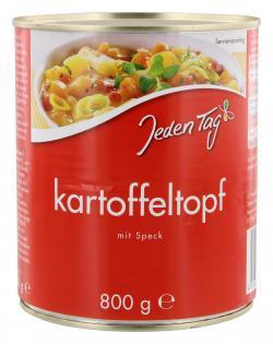 Jeden Tag Kartoffeltopf mit Speck  (800 g) - 4306188047599