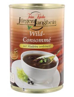 J�rgen Langbein Wild Consomm� mit Madeira verfeinert  (400 ml) - 4007680103232