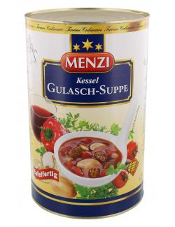 Menzi Kessel Gulasch-Suppe  (4,20 l) - 4016900092706