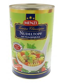 Menzi Nudeltopf mit Fleischklöschen  (4,20 kg) - 4016900036700