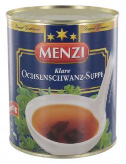 Menzi  Ochsenschwanz-Suppe  (800 ml) - 4016900021102