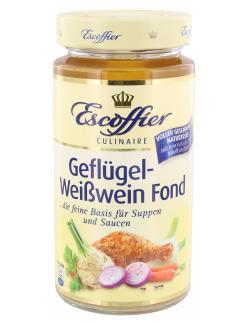 Escoffier Basis-Fond Geflügel-Weißwein  (400 ml) - 4058700730952