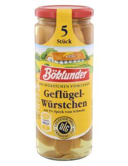 Böklunder Geflügel Würstchen  (5 x 42 g) - 4000404121758