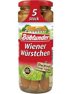 B�klunder Wiener W�rstchen  (5 x 42 g) - 4000404121956