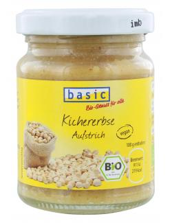Basic Brotaufstrich Kichererbse  (125 g) - 4032914592049
