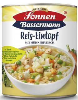 Sonnen Bassermann Reistopf mit Hühnerfleisch  (800 g) - 4008585101828
