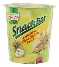 Knorr Snack Bar Spaghetti in Käse-Sahne-Sauce  (71 g) - 8712566314614