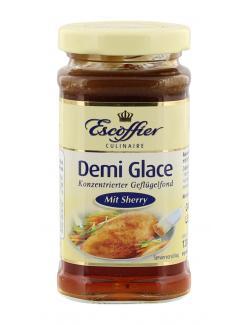 Escoffier Demi Glace Geflügelfond mit Sherry  (120 ml) - 4058700732444