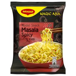 Maggi Magic Asia Nudel Snack Masala Spicy  (64 g) - 7613034792020