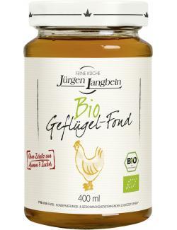 Jürgen Langbein Bio Geflügel-Fond  (400 ml) - 4007680106745