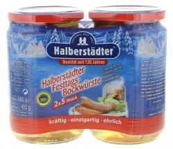 Halberst�dter Duo Pack Festtags-Bockw�rste  (400 g) - 4012682010129
