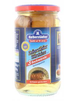 Halberstädter Kaminrauch Bockwürste  (210 g) - 4012682011331
