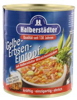 Halberst�dter Gelbe Erbsen-Eintopf  (800 g) - 4012682015063
