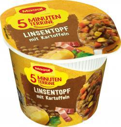 Maggi 5 Minuten Terrine Linsentopf mit Kartoffeln  (49 g) - 7613035028920
