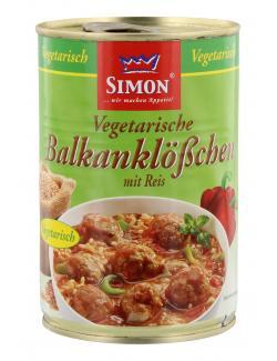 Simon Vegetarische Balkanklößchen mit Reis  (400 g) - 4002757014787