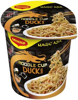Maggi Magic Asia Noodle Cup Duck  (65 g) - 7613035206410