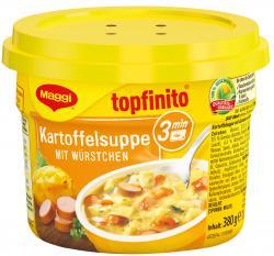Maggi Topfinito Kartoffelsuppe mit Würstchen  (380 g) - 40055732