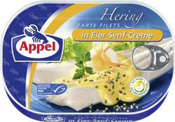 Appel Heringsfilets in Eier-Senf-Creme  (200 g) - 4020500966121