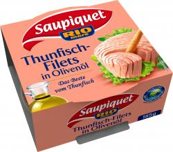 Saupiquet Thunfischfilets in Oliven�l  (135 g) - 3165950077018