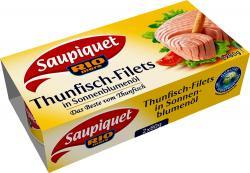 Saupiquet Rio Mare Thunfisch-Filets in Sonnenblumenöl  (2 x 80 g) - 3165950308167