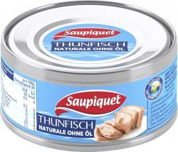 Saupiquet Thunfisch naturale ohne �l  (140 g) - 3165957380012