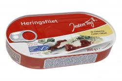 Jeden Tag Heringsfilet in Tomaten-Curry-Creme  (200 g) - 4306188050919