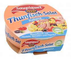 Saupiquet Rio Mare Thunfischsalat Italiana mit Pasta  (160 g) - 3165950576702