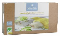 Followfish Heringsfilets in Bio-Senfsauce  (120 g) - 4250073451704