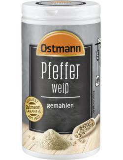 Ostmann Pfeffer wei� gemahlen  (45 g) - 4002674044720